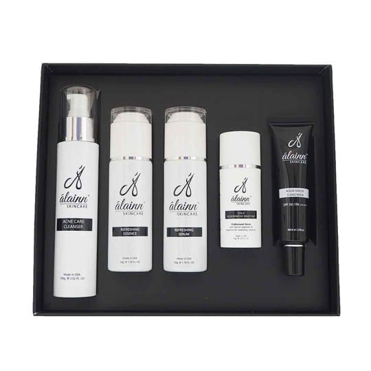 Acne Skincare Set Alainn Clinic Aesthetic Clinic Kl
